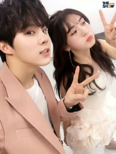 [PIC] 170214 The Show twitter update with MC #SOMI and Wooshin Up10tion