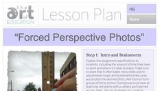 Level: High School Art Education Lesson Plan Art Elements: Space Art Skills: Photography, Optical Illusions, Collaboration Making Connections:Using Technology Want your students to use their cell phones for learning? Then this is the lesson plan for you! This activityis a fun and exciting way to teach your students how to play with the rules of …