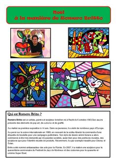Printemps à la maniere de Britto – Ce2 – Cm1 – Cm2 – Cycle ...