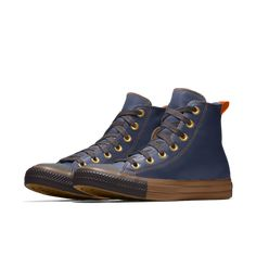 2326b81819e Converse Custom Chuck Taylor All Star Metallic Leather High Top Shoe