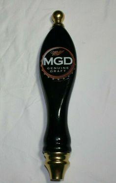 MGD - Miller Genuine Draft Tap Handle - Used, but in GREAT CONDITION! #Miller Beer Keg, Beer Taps, Keg Tap, Conditioner, Handle, Ebay
