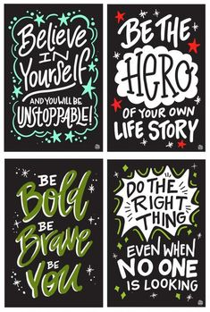 Lettering Fonts Discover InSTALLing Inspiration - x UV-Coated Vinyl Adhesive Decals for Bathroom Stall Doors or Any Walls - Collection A Positive Affirmations, Positive Quotes, Motivational Quotes, Inspirational Quotes, School Bathroom, Now Quotes, Bathroom Quotes, School Murals, School Quotes