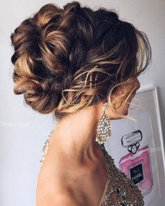 [tps_header] Credits: Hairstyle from Tonyastylist If you are looking for updo hair inspiration and cool sources for having the most impressive makeup looks for My Hairstyle, Fancy Hairstyles, Wig Hairstyles, Wedding Hairstyles, Wedding Hair And Makeup, Wedding Updo, Hair Styles 2016, Long Hair Styles, Wedding Hair Inspiration