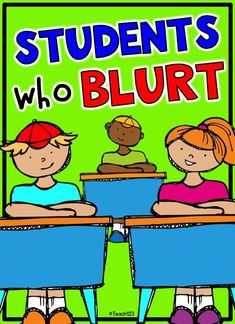 Classroom management tip: Students who blurt during whole group lesson. Great tip to help with those students who are impulsive during your lessons. Classroom Behavior Management, Behaviour Management, Class Management, Classroom Behaviour, Student Behavior, Clip Charts, Kindergarten Classroom, School Classroom, Classroom Ideas
