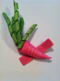 PInk Carrot Clippie www.spillthebeansetc.com