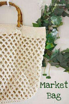 Coton et Lavande: Market Bag