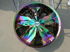 Multi-Color Lexani Custom Rims