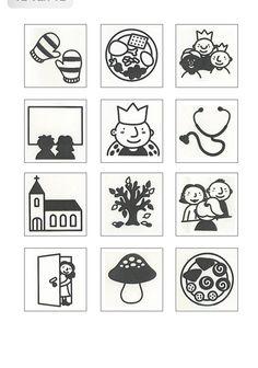 Activiteitenkaartjes Classroom Organisation, Pre School, Kids, Index Cards, Preschool, Billboard, Young Children, Boys, Children
