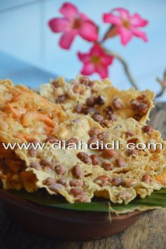Diah Didi's Kitchen: Rempeyek Jadul & Uji Coba Menggoreng Pakai HCO