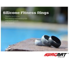 Visit www.swagmat.com for 10% OFF! A silicone wedding ring replacement for people who love sports and outdoors.