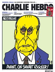 dessin de presse Mitterrand, Charb