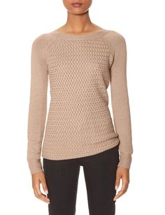 Need this!! Lattice Knit Sweater from THELIMITED.com #ItsTime #TheLimited