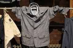 Chambray shirt/jacket