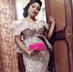 Modèles 14 Aso Ebi Lace Styles, African Lace Styles, Lace Dress Styles, African Lace Dresses, Latest African Fashion Dresses, African Print Fashion, African Wedding Attire, African Attire, Lace Material Styles