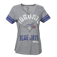 Women's Team Captain Crew T-Shirt by G-III Toronto Blue Jays, Home Team, Classy And Fabulous, Her Style, Pride, Creative, Gift, Mens Tops, T Shirt