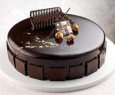 Glassa al cioccolato per coperture