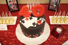 Forty Deuces Birthday Party Ideas | Photo 1 of 28 | Catch My Party