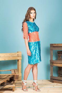 #fashion #lookbook #sequins #lace #madeinitaly #collection #alcoolique #newbrand #partydress #italy #runway #lovefashion #dress #skirt #shirt #colorful #moda #designer #emergingdesigner #sexygirl #longlegs #model #beautiful #summer #flowers #stripes