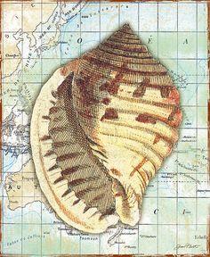 I uploaded new artwork to fineartamerica.com! - 'Nautical Journey-c' - http://fineartamerica.com/featured/nautical-journey-c-jean-plout.html via @fineartamerica