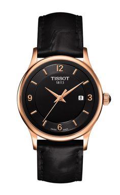 This Watch! <3 Tissot Rose Dream Lady Quartz 18K Rose Gold Case