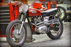 Triumph T100 Scrambler - Inazuma Cafe Racer