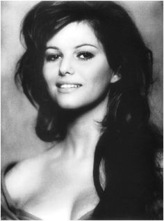 Claudia Cardinale a natural beauty