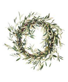 Another great find on #zulily! Olive Wreath #zulilyfinds