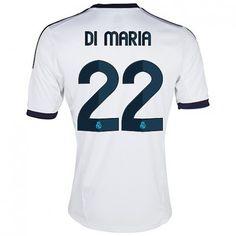Di Maria del Real Madrid 2012/13 Camiseta futbol [608] - €16.87 : Camisetas de futbol baratas online!