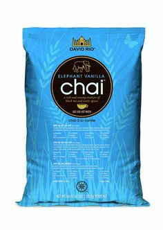 Elephant Vanilla - David Rio's very first chai recipe remains as popular as ever, and is a rich and creamy mixture of black tea and premium spices.