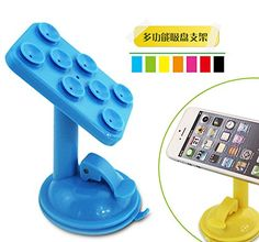 Colorful Multifunction Universal 360 degree Rotation 8 Vacuum Foot Suckers Octopus Geckos Windshield Window Desktop Portable Car ALL Phone GPS Holder Cradle Stand Bracket Super Strong Anti Slip Suction Cup Clip Flexible For SmartPhone Mount On Car Desk Dashboard Table Bed Kitchen Portable Grip Positioning Device Support Hanging Mount Smart Cell Phone Camera For Apple iPhone6 5 5s 5c 4 4s iPod touch Samsung Galaxy S5 S4 S3 Note 3 2 HTC OneGoogle Nexus 5 Cell Phone Mobiles Smartphone Android…