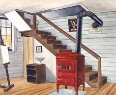 Studio Interior by George Ault