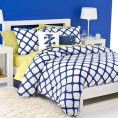 WestPoint Home™ IZOD Trellis Mini Comforter Set - Bed Bath & Beyond--for the red room?