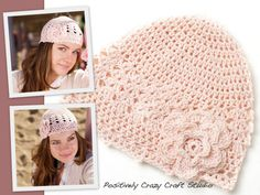 Crochet hats by Basia's Hat Factory / http://arbillabasia.wix.com/basiashatfactory