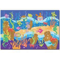 Trademark Art Underwater Adventures Canvas Art by Grace Riley, Size: 14 x 19, Multicolor