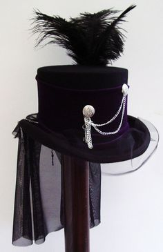 The Lady Gailen Githic Riding hat Chained Corset top  by Blackpin, £87.00