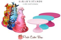 ... Sarah's Stands for a free cake stand and gift certificate to Pink Cake