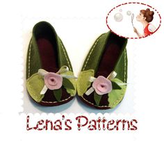 barefoot felt slippers  | Sew Baby Shoes and Slippers: Use Free Online Sewing Patterns to