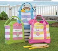 Love these Fairfax Girls' Stripe Totes from Pottery Barn....might be easy to make for the craft fair.