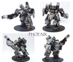 Phoenix Mecha Assault Suit by RageofAchilles.deviantart.com on @DeviantArt