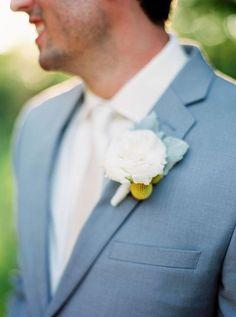 Pantone's 2016 Color: 63 Serenity Wedding Ideas Blue Tuxedo Wedding, Wedding Tux, Trendy Wedding, Dream Wedding, Wedding Ideas, Wedding Pins, Wedding Bells, Blue Groomsmen, Groomsmen Outfits