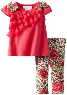 Bonnie Baby-girls Newborn Ruffle Tunic Legging Set, Rose, 0-3 Months Bonnie Baby,http://www.amazon.com/dp/B00CN7KEFO/ref=cm_sw_r_pi_dp_MkHPsb01M9DDQHDV: