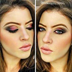 Make de ontem da @makeupby_lanna, do Beauty Team da NYX do Shopping Rio Mar de Fortaleza
