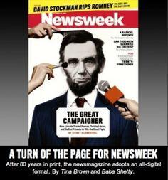 Newsweek magazine to stop printing, go all-digital