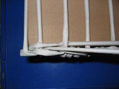 Pletení z papíru II. - vypletené hranaté dno - Tvoření pro radost a potěšení