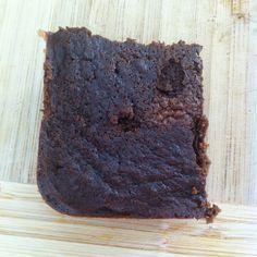 Gluten Free Black Bean Brownies -- no flour, no refined sugar, less than 200 calories, tastes DELICIOUS!