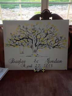 Fingerprint tree, this is a cute idea to combine families!