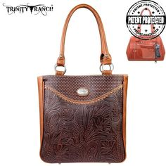 Concealed Handgun Tote - Trinity Ranch Collection - TR26g-L8561