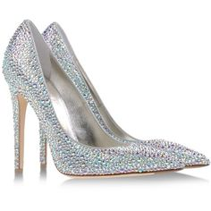 Le Silla Pumps ($1,180) ❤ liked on Polyvore featuring shoes, pumps, heels, sapatos, light grey, rubber sole shoes, glitter heel shoes, glitter shoes, le silla shoes and le silla