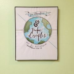 The Great Commission - Hand Lettering Typography Drawing