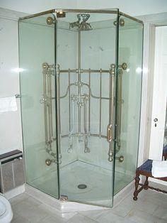 needle / ribcage shower modernized